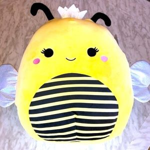 """NWT 16"""" Queen Bee Sunny Squishmallow"""